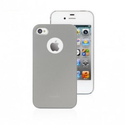 iGlaze Slim Case for iPhone 4 - Titanium