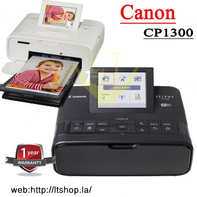 Printer photo(mini) Canon SELPHY CP1300W (WiFi/ USB / Mem)