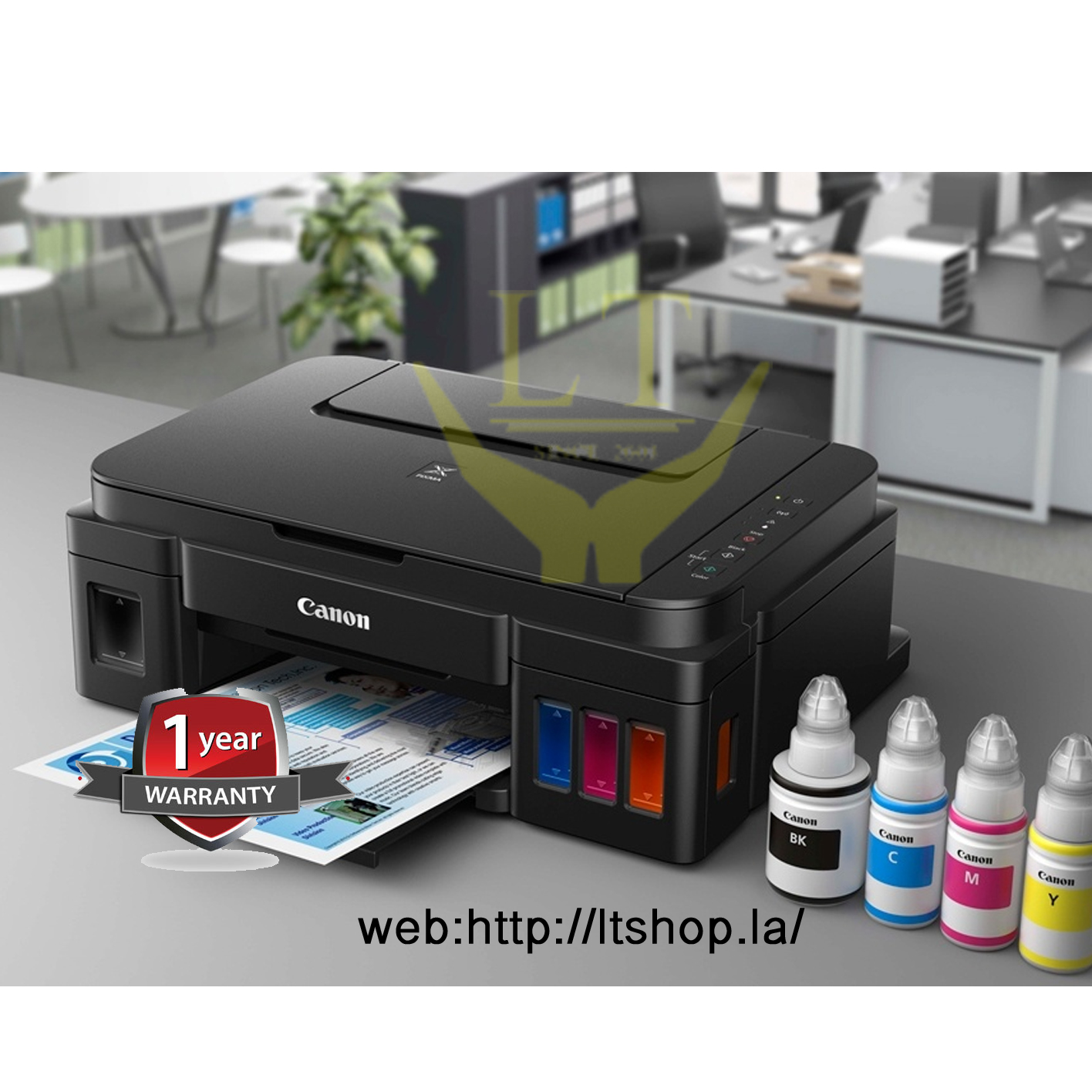 Canon G3000 All In One Wi Fi Printer